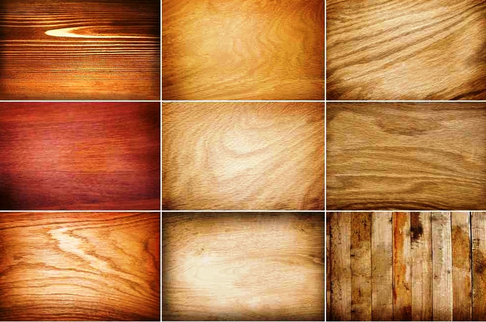 Примеры древесной фактуры