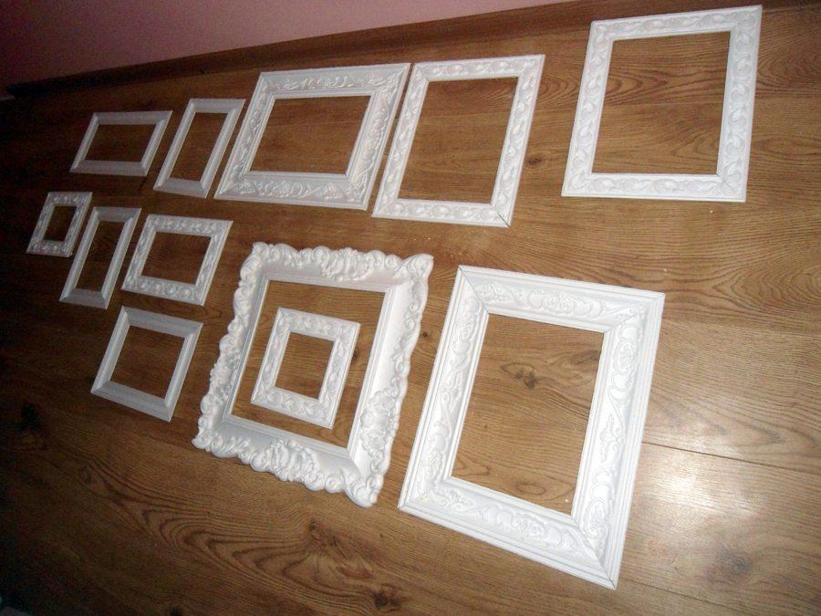 Рамки для фото своими руками из багетов