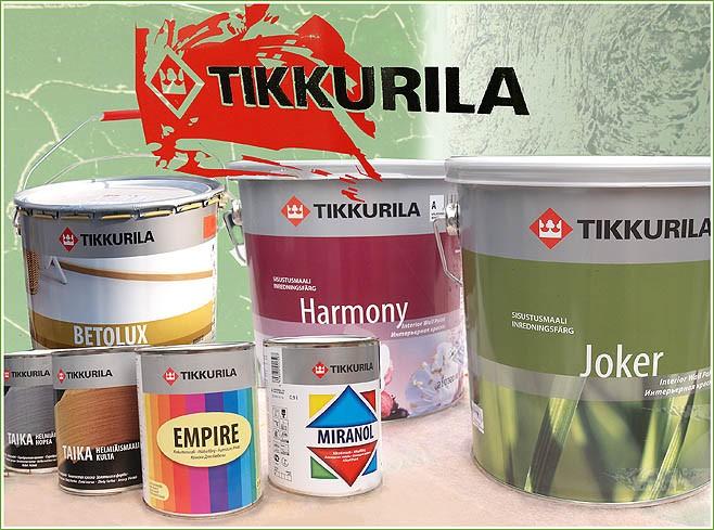 Продукция Tikkurila обрела популярность в 40 стран мира