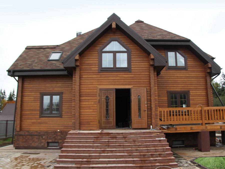 Проект бруса на дом 8 на 8 - идеальное решение для коттеджного или городского жилья.
