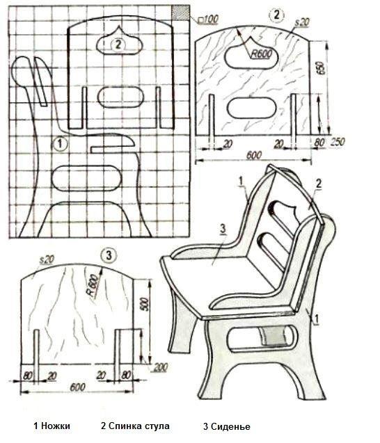 Мебель своими руками чертежи детская