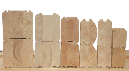 Профилирование повышает качество соединений при строительстве стен.
