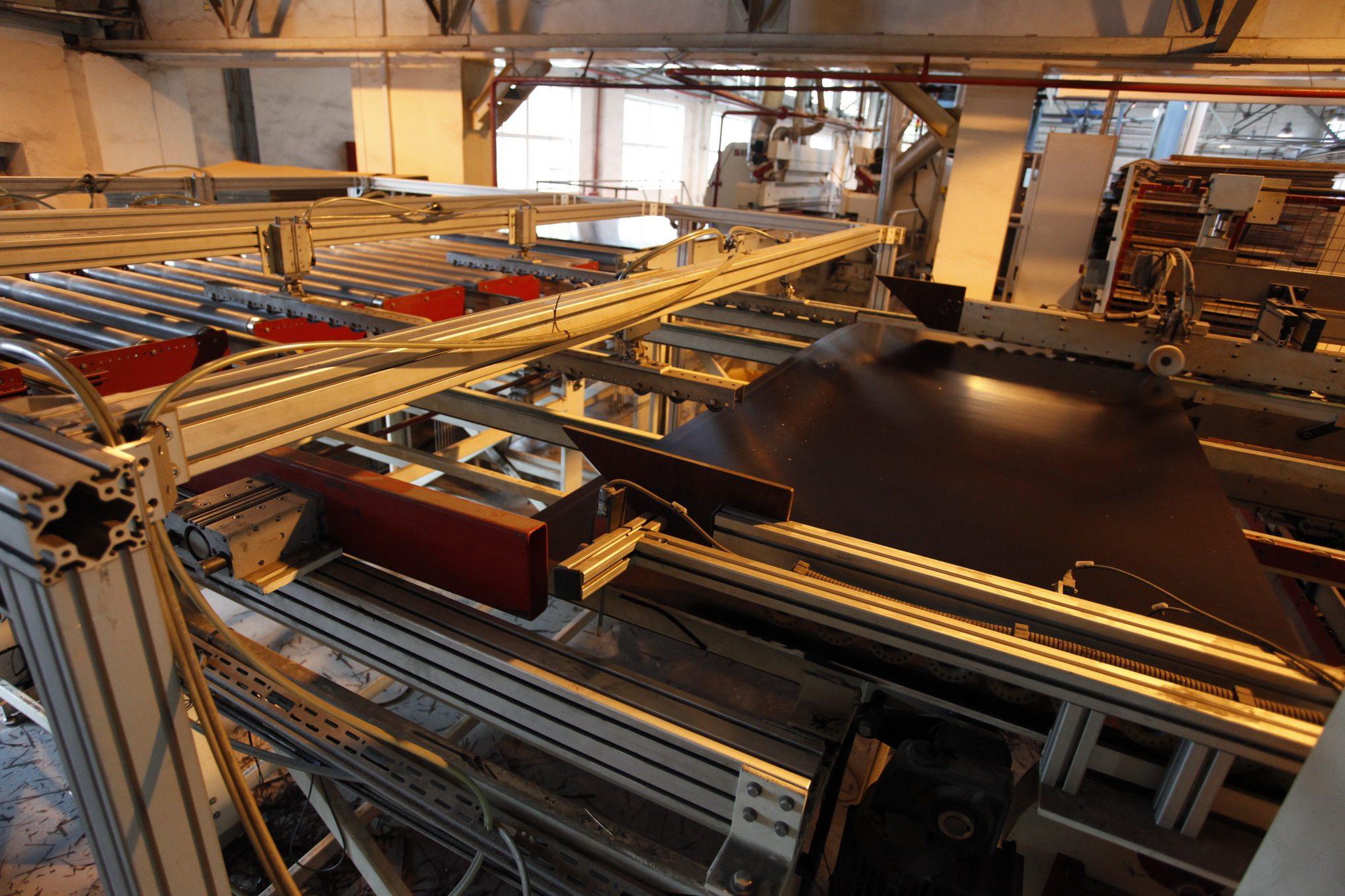Производственные помещения с полностью автоматизированными процессами