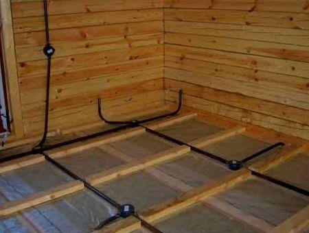 Прокладка кабеля в металлических трубах является самой безопасной.