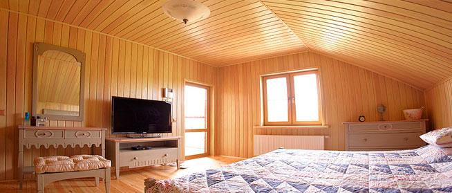 Просторные спальни – важное преимущество данного варианта