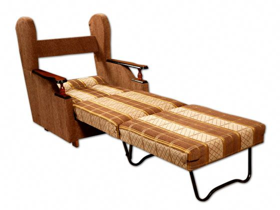 Раскладные кресла-кровати без подлокотников Фото
