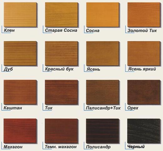 Пропитка для дерева коричневого цвета