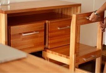 Самодельное рабочее место из древесины