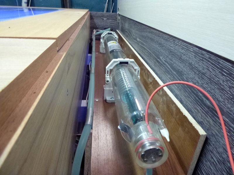 Самодельный лазерный гравер: лазерная трубка.