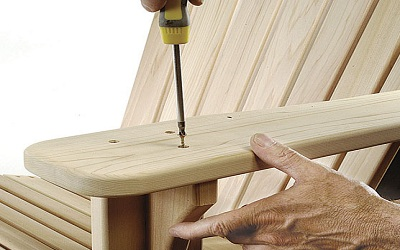 Кресло-трон из дерева своими руками