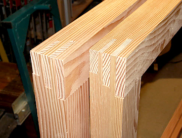Сделанный стеклопакет из дерева своими руками