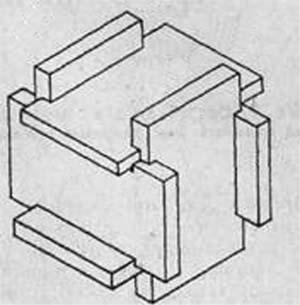 Схема – кубик-тайник