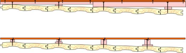 Схема расположения шабашек