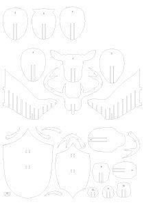 чертежи блесны носорог