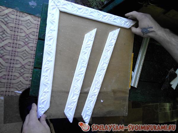 Рамки из багета для фото своими руками из