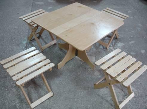 Дачная мебель из фанеры