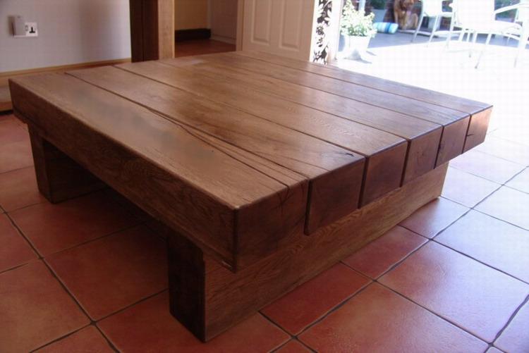Садовая мебель из бруса фото