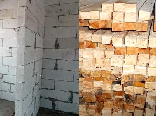Строить дом из бруса или газобетона - что дешевле?У каждого из рассматриваемых материалов есть как достоинства, так и недостатки