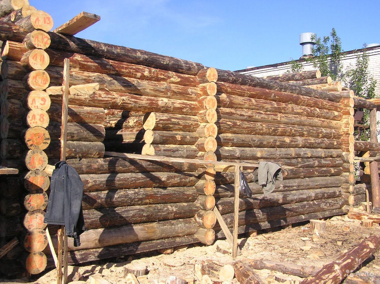 Строительство дома из бревна своими руками от а до я