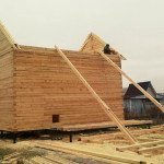 wood sell house construction
