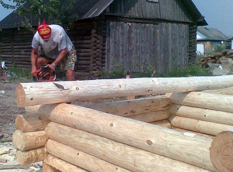 Как построить дом в срубе