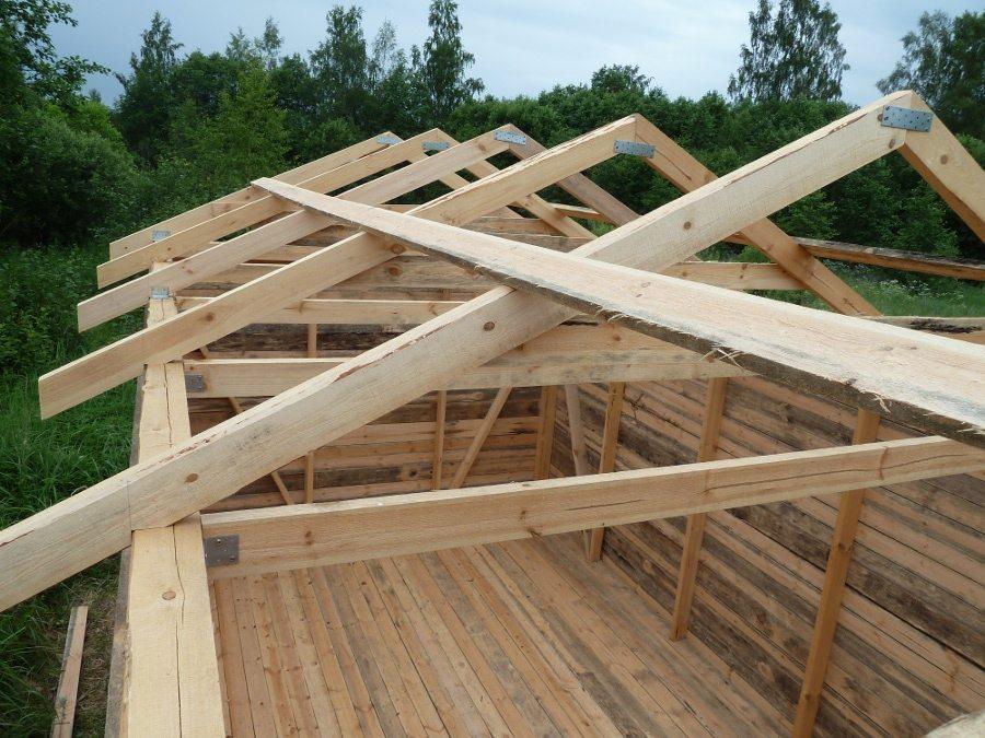 Как перекрыть крышу на сарае своими руками