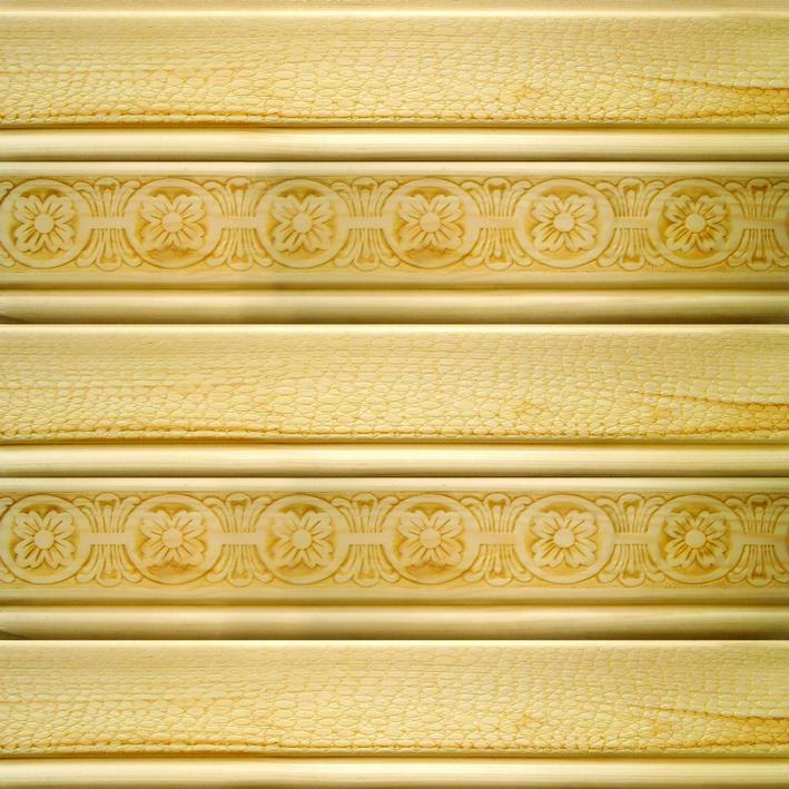 Структура гусварблока проработана настолько тщательно, что такие отделочные материалы для внутренних стен из дерева могут имитировать любые поверхности