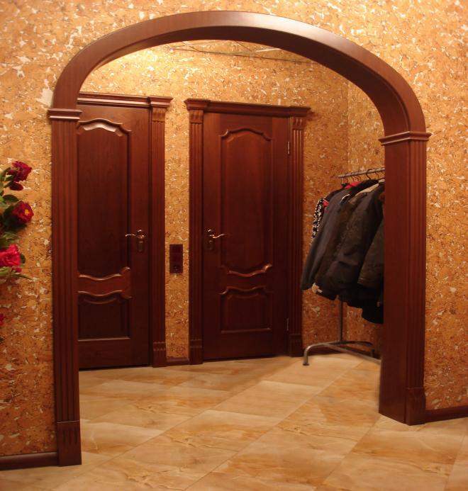 Свод в форме эллипса зрительно увеличивает высоту помещения.