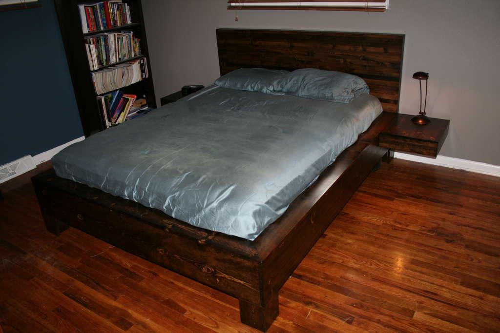 2 х спальная кровать своими руками