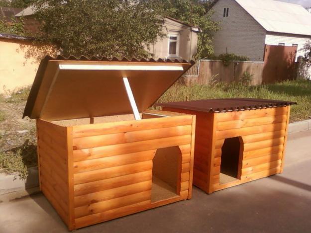 Так выглядит деревянный домик для кошки или собаки
