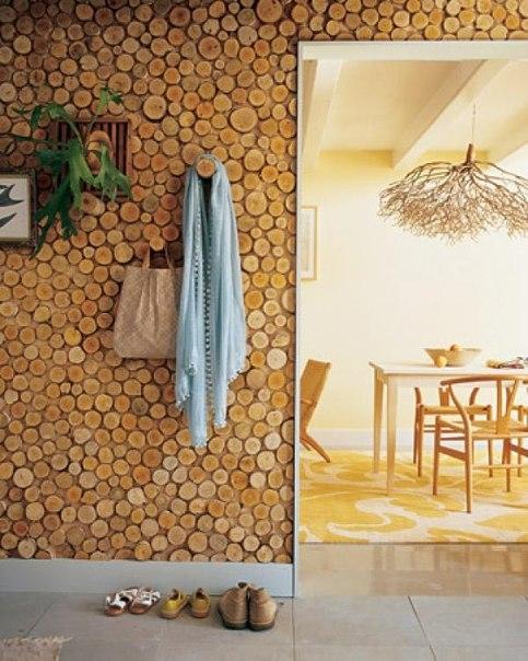 Такая отделка украсит и наружные, и внутренние стены дома