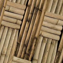 Такой бамбуковый узор можно изобразить на двери