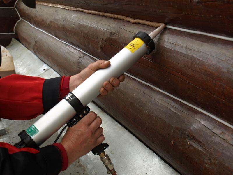 Технология нанесения герметика на швы