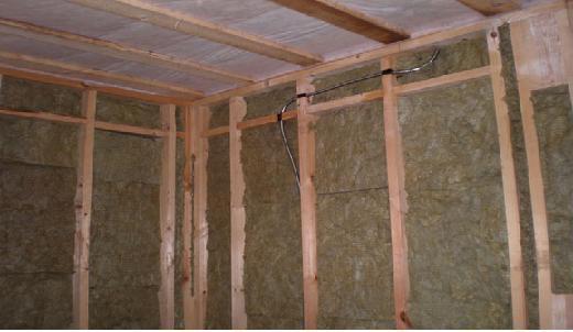 Теплоизоляция стен минватой изнутри