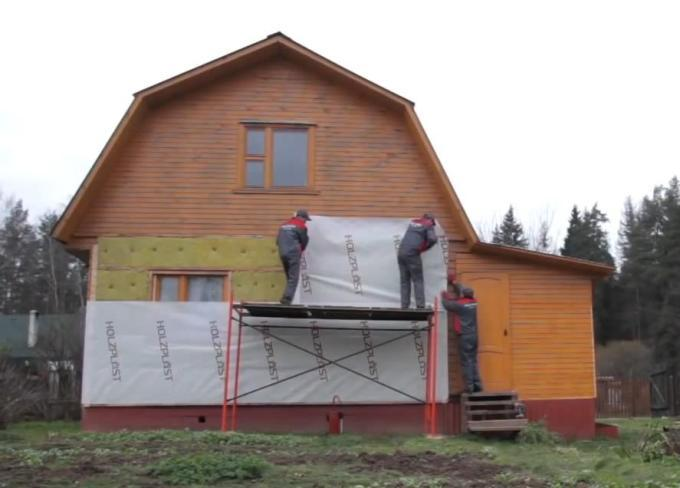 Термоизоляция загородного дома