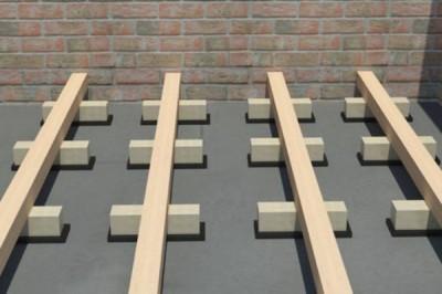 Укладка на бетонную стяжку