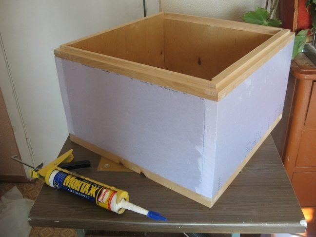 Как сделать улей для пчел из фанеры видео