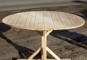 Как своими руками сделать круглый стол
