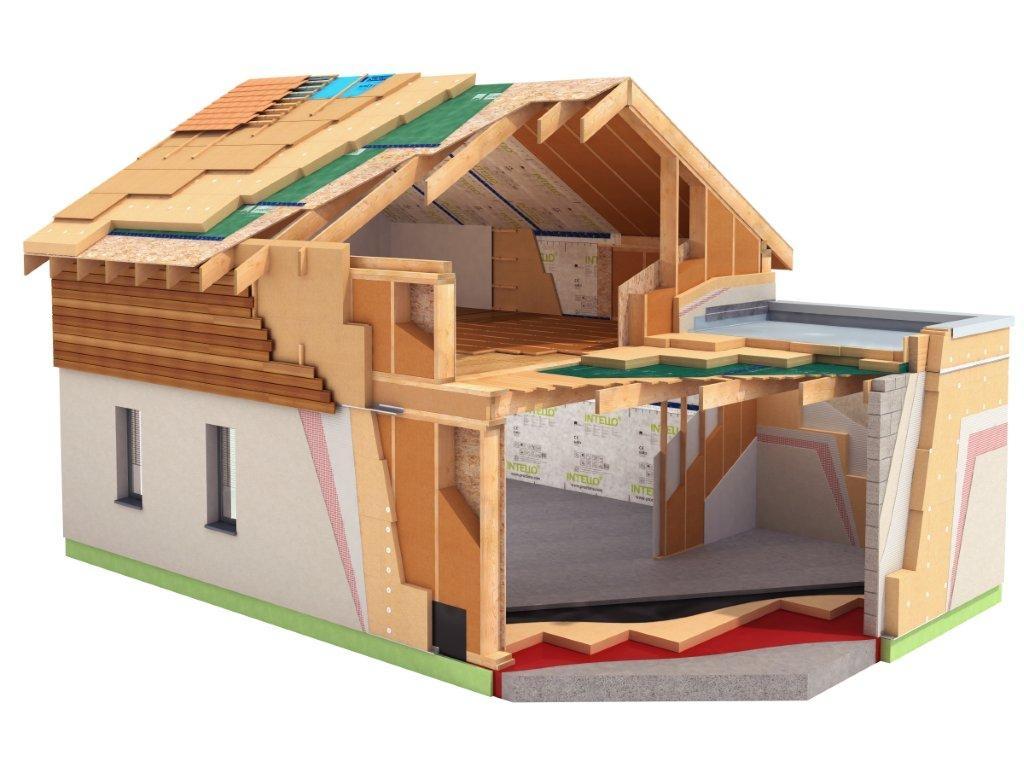 Утепление дома при строительстве