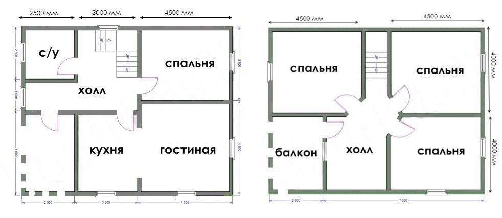 План дачного дома 36 фото видеоинструкция по