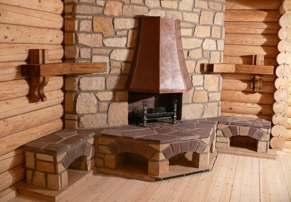 Как сделать камин в деревянном доме своими руками