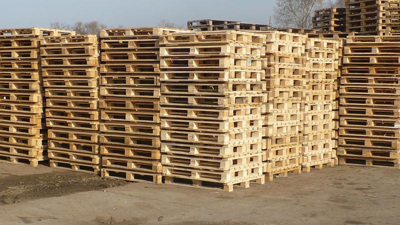 Вес деревянного европоддона 1200х800 зависит от его типа