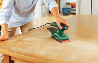 Вибрационная модель – идеальный вариант для обновления деревянной мебели