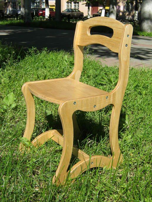 Как сделает детский стульчик
