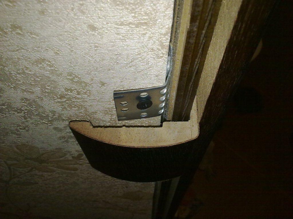 Вместо подвесов можно использовать перфорированные крепежи из оцинковки