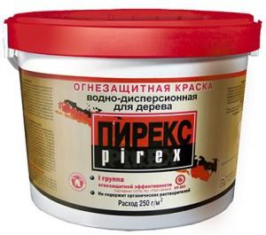 Водно-дисперсный материал с огнезащитными добавками