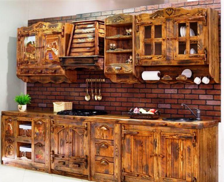 Восстановленная своими руками кухонная мебель прослужит еще долго.