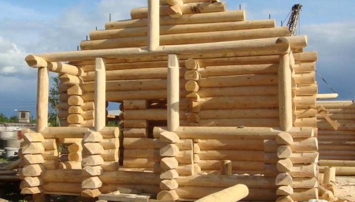 Возведение деревянного сруба