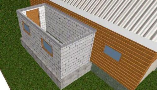 Высота фундамента зависит от влажности и высоты грунтовых вод