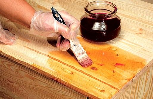 Защиту и декорирование можно обеспечить с использованием разных составов
